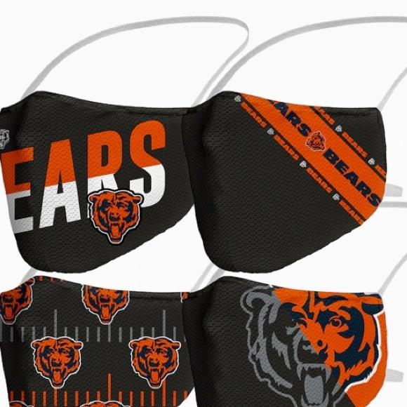 NFL Chicago Bears Face Masks